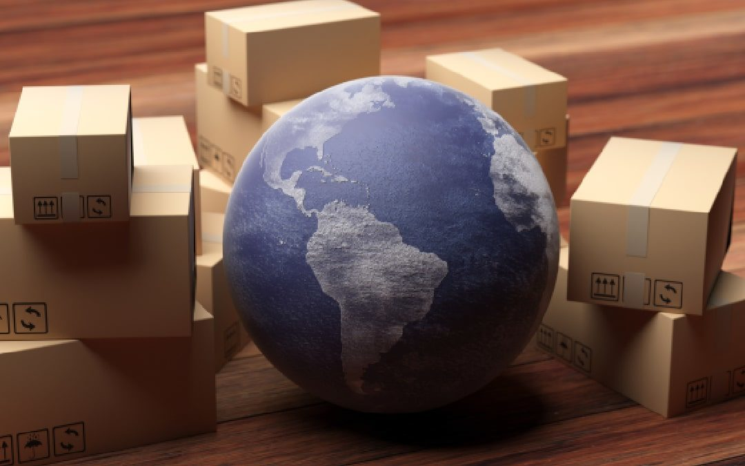 Different international shipping services